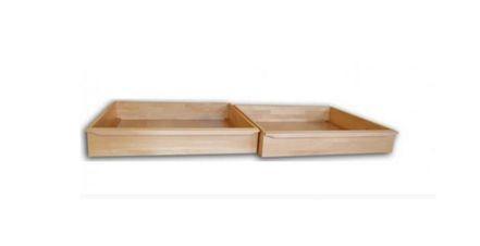 Zásuvka pod postel 1/2 dub