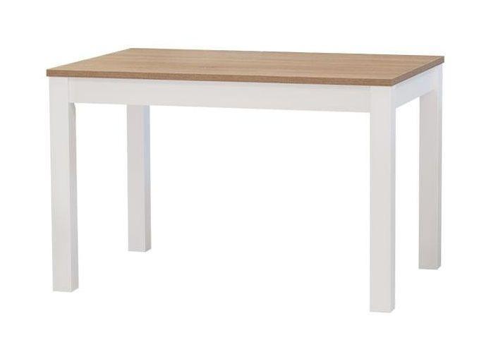 Akční stůl CASA mia NEW odstín dub halifax/bílá