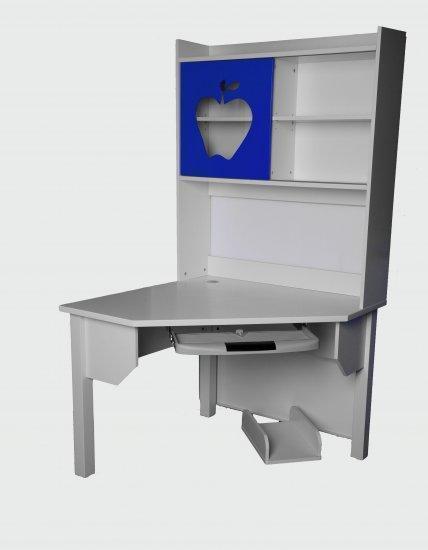 Dětský PC stůl DIANA s knihovnou