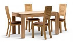 Jídelní stůl DM 016 z židlemi MOD 490
