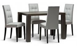 Jídelní stůl LEON a židle DALLAS