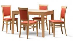 Jídelní stůl BRAVO a židle MANTA