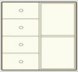 komoda KLASIC 25-03-svhema