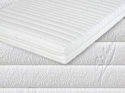 Potah Silver Protect<br/>Potah Silver Protect se skládá z látky (40% Lyocell a 60% polyester) o hmotnosti 350g/m2, polyesterového rouna o hmotnosti 300g/m2 a netkané textilie. Látka obsahuje vyšší procento vláken Lyocell, která jsou vyrobena z přírodních materiálů (základem je buková celulóza) a výborně odvádí vlhkost. Látka je upravena technologií Silver Protect, při které se do látky napustí nanočástice stříbra. Takto upravená látka má antibakterální účinky. Tento potah je zvlášť vhodný pro alergiky, je příjemný na omak a velmi dobře prodyšný.