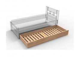 Přistýlka pod postel buk