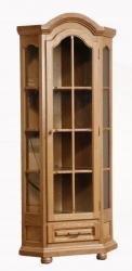 Rustikální vitrína AURICH III - rohová