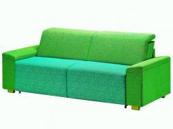 Harmony zelená<br/>Sedačka HARMONY se zeleným čalouněním-kombinovaná