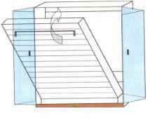 rozměr skříně pro dvojlůžko se odvíjí od druhu roštu. Skříň je vždy o 10cm na každou stranu větší než je rošt (pro rošt 200x180cm bude skříň 220x200cm).
