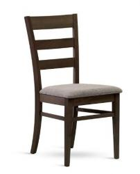 Krásná jídelní židle VIOLA s možností vyššího zatížení a výběru mnoha barev čalounění sedáku
