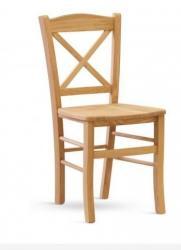 Jídelní židle CLAYTON nečalouněná