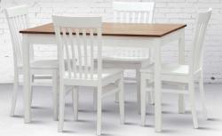 Jídelní stůl TWIN + židle K2 masiv