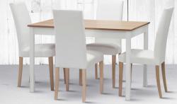Jídelní stůl TWIN + židle NANCY