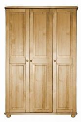 Skříň z masivní borovice Klasik 25 - 3P