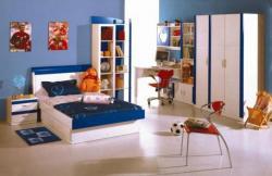 Dětská skříň DIANA třídvéřová