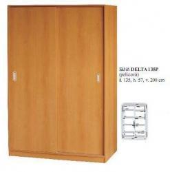 Šatní skříň DELTA 135P/150P