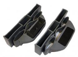 Pouzdro DUO+držáky<br/>k pouzdru lze doobjědnat držák pouzdra s čepem nebo držák třetí lamely s čepem