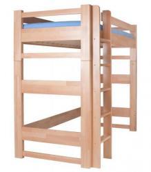 Postel LUCAS horní spaní buk