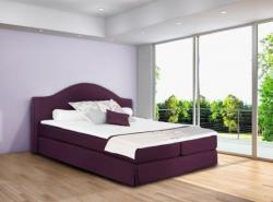 ruční výroba postelí,postel LONDON v látce LUNA 29