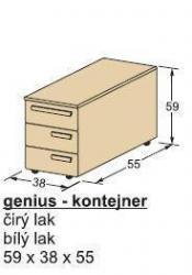 Kontejner GENIUS-schema