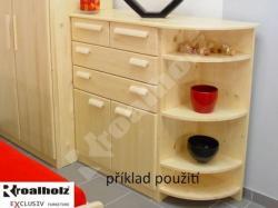 Prádelník DV - příklad nábytkové sestavy
