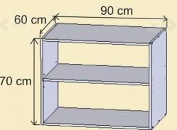 Nádstavec nad skříň N90 schema