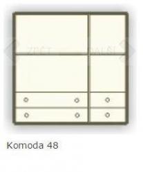 Komoda 25 - 48 schema