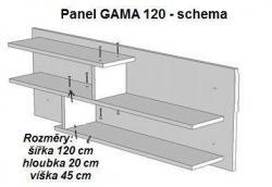 Panel Gama 120 schema