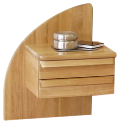 Noční stolek PETRA dub