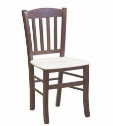 Jídelní židle VENETA odstín tm. hnědá
